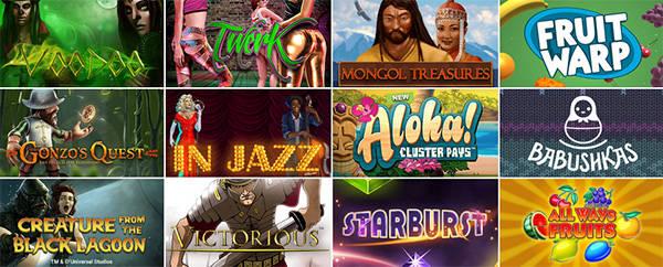 Разнообразие игр в Bob Casino - от Gonzo's Quest до Aloha